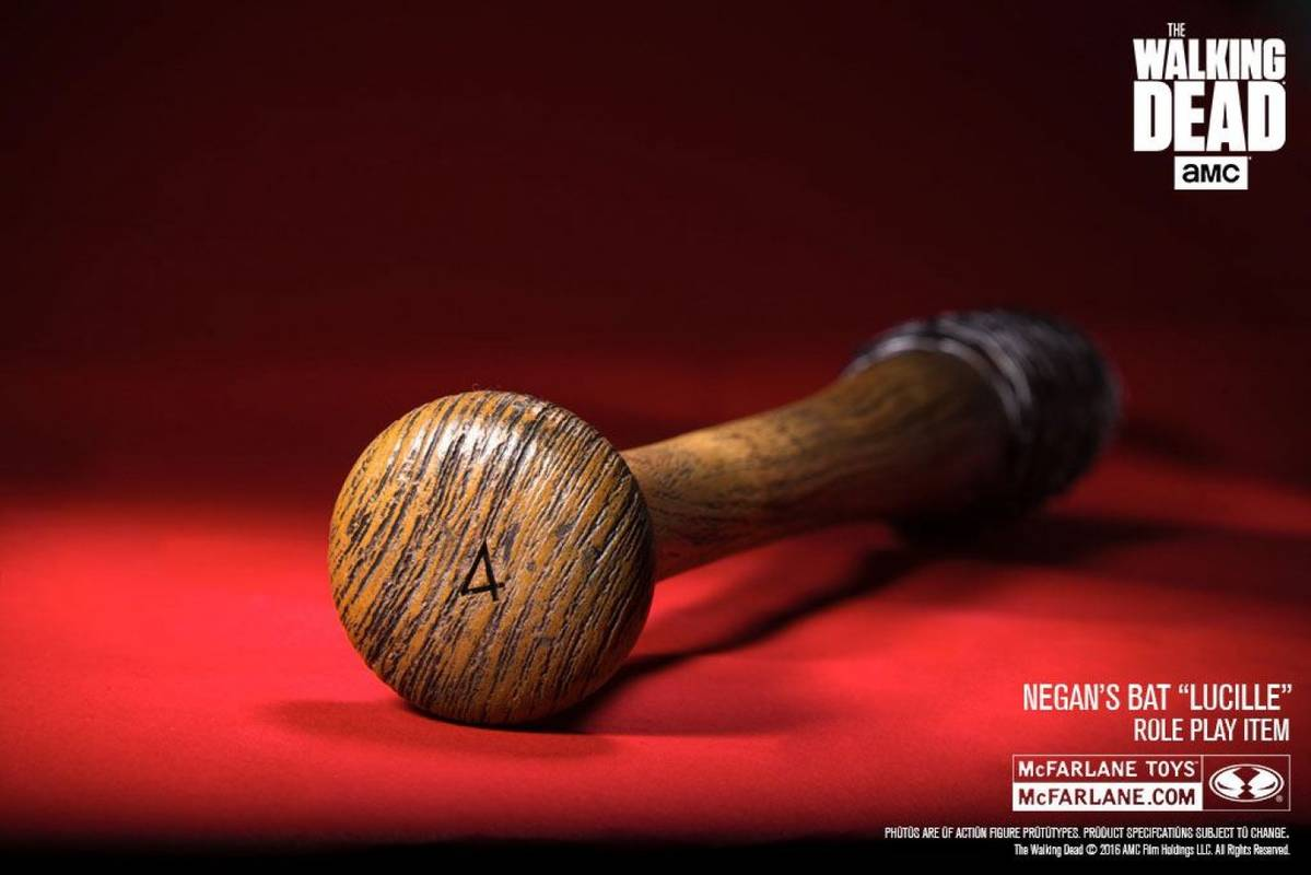 Swords and more The Walking Dead Negans Baseballschl/äger Lucille